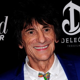 Ronnie Wood, The Rolling Stones in The Premiere of Django Unchained
