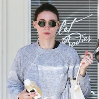 Rooney Mara Seen Leaving A Gym