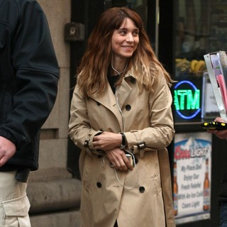 Rooney Mara in On The Film Set of The Bitter Pill