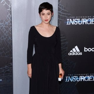Rosa Salazar in US Premiere of The Divergent Series: Insurgent - Red Carpet Arrivals
