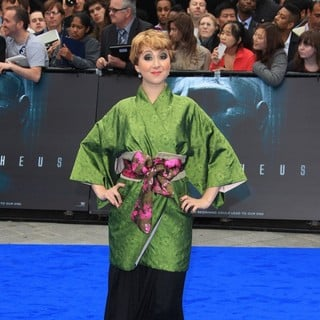 Rosamund Hanson in Prometheus UK Film Premiere - Arrivals