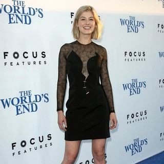 Rosamund Pike in The World's End Hollywood Premiere