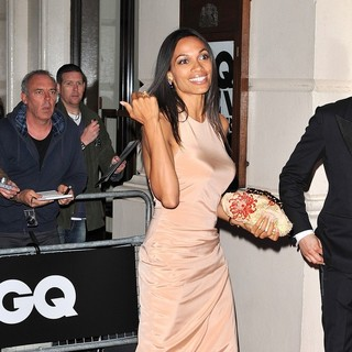 Rosario Dawson in GQ Men of The Year Awards 2011 - Arrivals