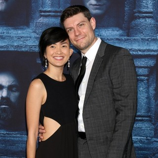 Jennifer Del Rosario, Patrick Fugit in Los Angeles Premiere for Season 6 of HBO's Game of Thrones