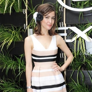 Rose Byrne in 2012 Melbourne Cup Carnival Victoria Derby Day