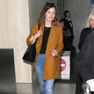 Rose Byrne Arrives at Los Angeles International Airport