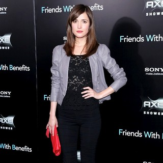 Rose Byrne in New York Premiere of Friends with Benefits - Arrivals