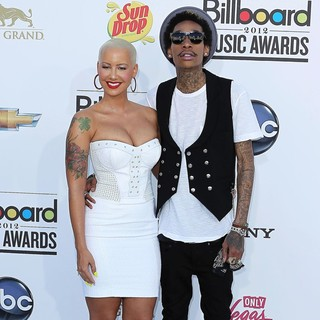 Amber Rose, Wiz Khalifa in 2012 Billboard Music Awards - Arrivals