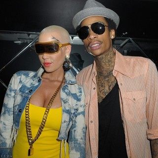 Amber Rose, Wiz Khalifa in Amber Rose and Wiz Khalifa Host A Party