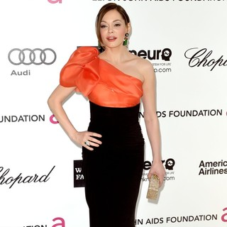 Rose McGowan in The 20th Annual Elton John AIDS Foundation's Oscar Viewing Party - Arrivals