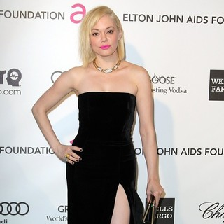 Rose McGowan in 21st Annual Elton John AIDS Foundation's Oscar Viewing Party