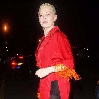 Rose McGowan in Rose McGowan at Annabels in Mayfair