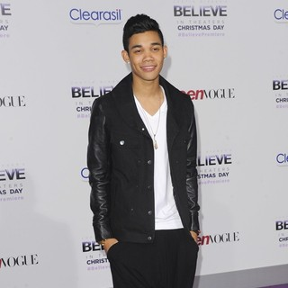 Roshon Fegan in Open Road Films Justin Bieber's Believe Memoir and Concert Film Presented by Teen Vogue