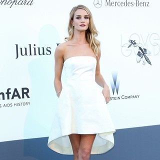 Rosie Huntington-Whiteley in 66th Cannes Film Festival - amfAR's 20th Annual Cinema Against AIDS - Arrivals
