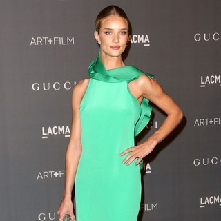 Rosie Huntington-Whiteley in LACMA 2012 Art + Film Gala - Arrivals