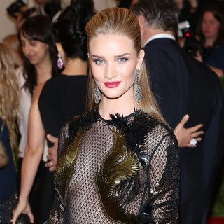 Rosie Huntington-Whiteley in PUNK: Chaos to Couture Costume Institute Gala