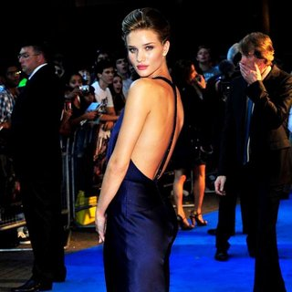 Rosie Huntington-Whiteley in The UK Premiere of Transformers Dark of the Moon