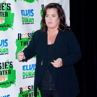 Rosie O'Donnell in Rosie's Building Dreams for Kids Gala