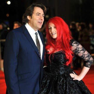 Jonathan Ross, Jane Goldman in The Premiere of The Woman in Black