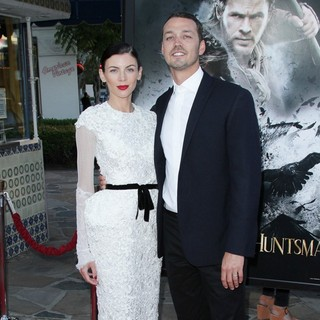 Liberty Ross, Rupert Sanders in The Industry Screening of Snow White and the Huntsman - Arrivals