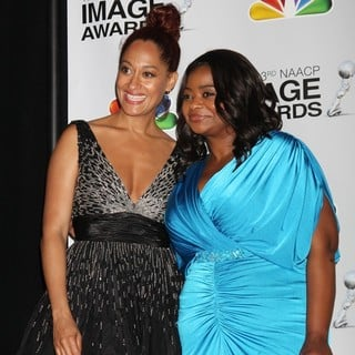 Tracee Ellis Ross, Octavia Spencer in The 43rd Annual NAACP Awards - Press Room