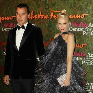 Gavin Rossdale, Gwen Stefani in Opening Night Gala of The Wallis Annenberg Center for The Performing Arts