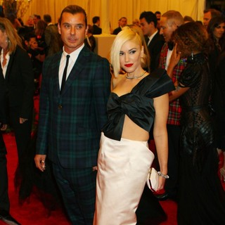 Gavin Rossdale, Gwen Stefani in PUNK: Chaos to Couture Costume Institute Gala