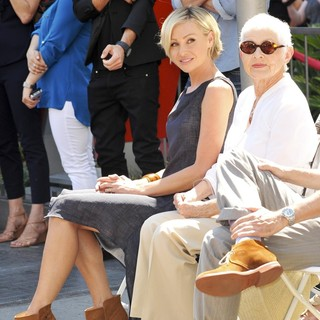 Portia de Rossi, Betty DeGeneres in Ellen DeGeneres Is Honored with A Star on The Hollywood Walk of Fame