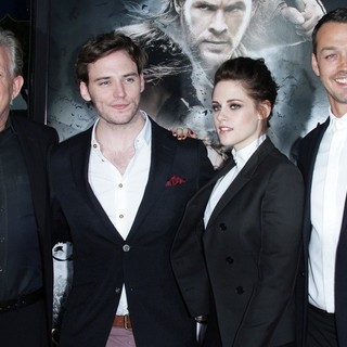 Joe Roth, Sam Claflin, Kristen Stewart, Rupert Sanders in The Industry Screening of Snow White and the Huntsman - Arrivals