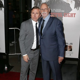 Tim Roth, Bruce Dern in Premiere of The Weinstein Company's The Hateful Eight - Red Carpet Arrivals