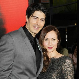 Brandon Routh, Courtney Ford in Premiere of HBO's True Blood Season 6 - Arrivals