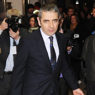 Rowan Atkinson in The Wizard of Oz Press Night - Arrivals