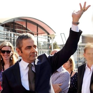 Rowan Atkinson in The World Premiere of Johnny English Reborn