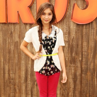 Rowan Blanchard in World Premiere of Free Birds