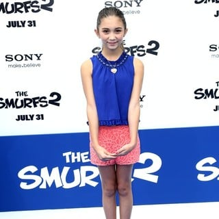 Rowan Blanchard in The Los Angeles Premiere of The Smurfs 2 - Arrivals