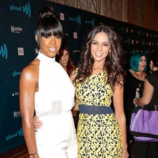 Kelly Rowland, Terri Seymour in 24th Annual GLAAD Media Awards - Arrivals