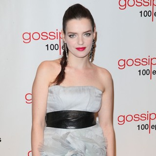 Roxane Mesquida in Gossip Girl Celebrates 100 Episodes