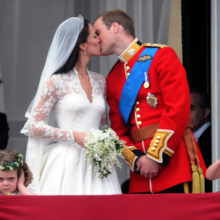 Prince William, Kate Middleton in The Wedding of Prince William and Catherine Middleton