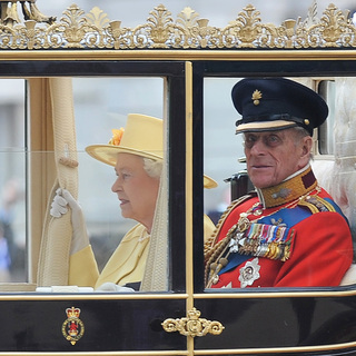 Queen Elizabeth II, Prince Phillip in The Wedding of Prince William and Catherine Middleton
