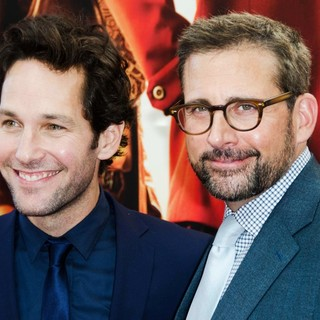Paul Rudd, Steve Carell in Australian Premiere of Anchorman: The Legend Continues - Arrivals