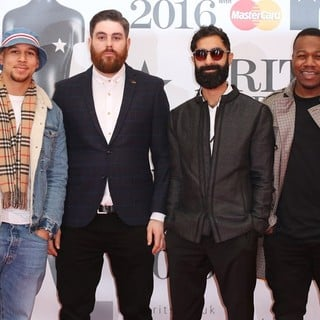 Rudimental in The Brit Awards 2016 - Arrivals