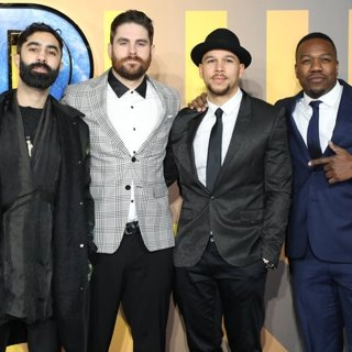Rudimental in Black Panther European Premiere - Arrivals