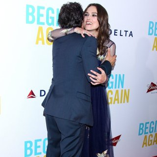 Mark Ruffalo, Keira Knightley in The New York Premiere of Begin Again - Arrivals