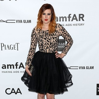 Rumer Willis in amfAR 3rd Annual Inspiration Gala