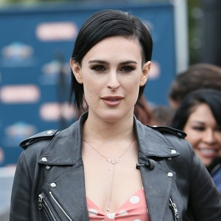 Rumer Willis for Extra