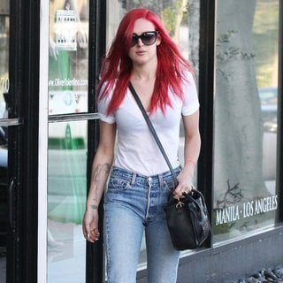 Rumer Willis Leaving Andy Lecompte - rumer-willis-leaving-andy-lecompte-04