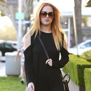 Rumer Willis in Rumer Willis Seen Leaving The Andy Lecompte Salon