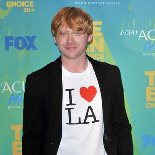 Rupert Grint in 2011 Teen Choice Awards