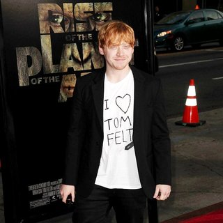 Rupert Grint in The Premiere of 20th Century Fox's Rise of the Planet of the Apes - Arrivals
