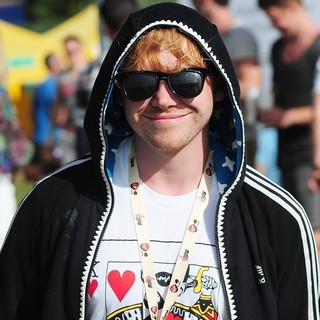 Rupert Grint in V Festival - Day One